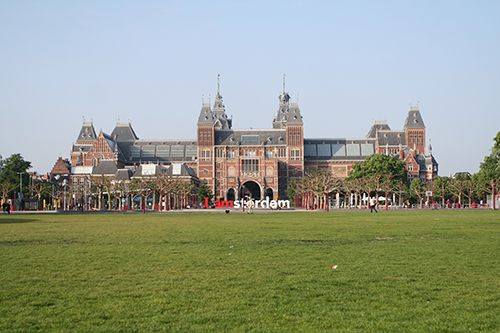 amsterdam southern district museumplein square