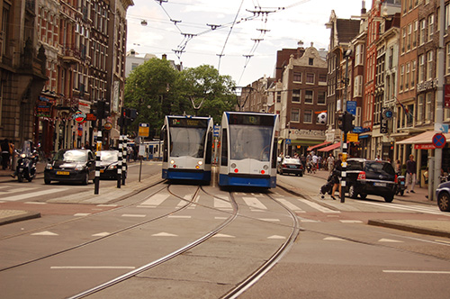 amsterdam western district public transport